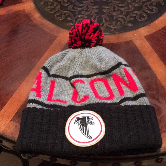 7f0cfd86939f08 Mitchell & Ness Accessories | Atlanta Falcons Knit Hat | Poshmark